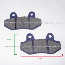 Balatas Disco AT110 / DS125 / DS150 / XS150 / GS150 / GTS175 / Vitalia 125 / DM150 / DT200 Sport / FT180 / FT200 - Phantom