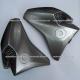 Guias de Aire con Rejilla Yamaha FZ16 2.0 / FZs 2.0 / Fazer 150 2.0 (de Tanque) - (Titanio)