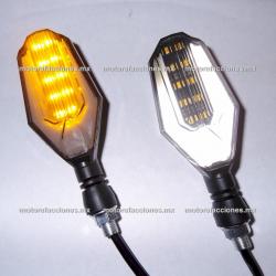 Direccionales LED c/ Cuarto (Ambar c/ Cuarto Blanco) - Delanteras