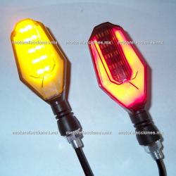 Direccionales LED c/ Cuarto (Ambar c/ Cuarto o Stop Rojo) - Traseras