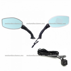 Sistema DVR - HD para Moto / Doble Camara / Micro SD / Diplay LCD en Espejo