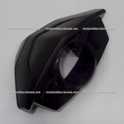 Cubierta de Manubrio y de Tablero (Antifaz) Vento Terra - Tank X-Tank 150 - X5 (Negro Brillante)