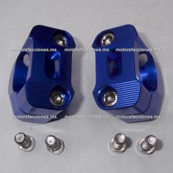 Base para Manubrio Universal Motocicletas (Azul)