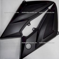 Cubiertas Laterales - Yamaha YBR125-Z (negro mate)
