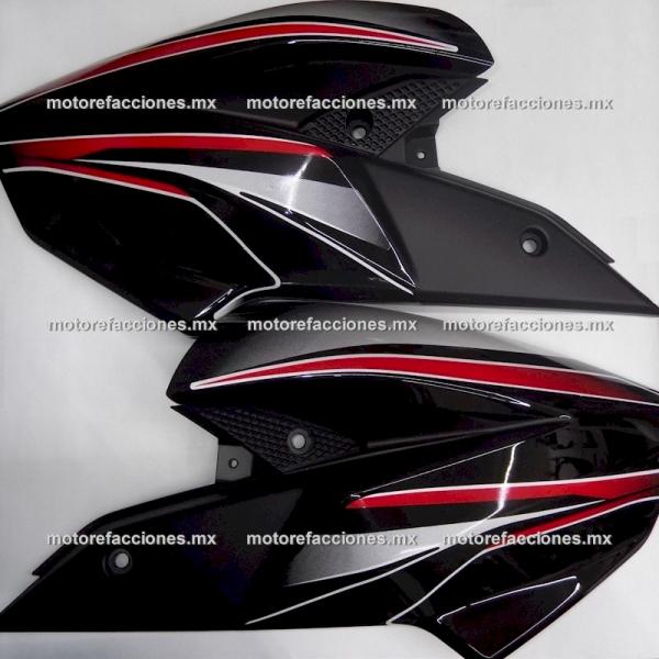 Cubiertas Protectoras de Tanque Bajaj Pulsar NS200 - (negro) (par)