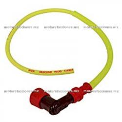 Capuchon y Cable de Bujia NGK