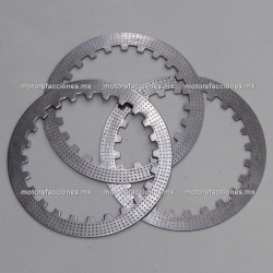 Discos (platos) de Clutch ( pzas) - Italika AT110 / AX110 / T-Rex 70 / X110 / XT110