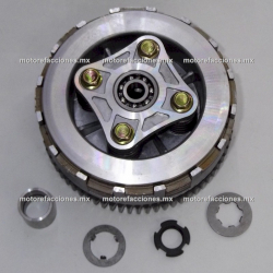 Clutch Ensamble Completo Italika AT110 / AX110 / X110 / XT110 / XT110 RT II