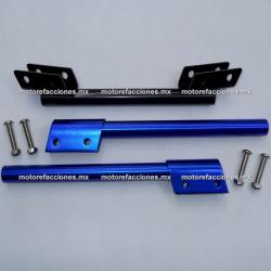 Manubrio Deportivo Ajustable Motocicleta (azul)