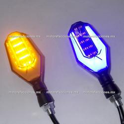 Direccionales LED c/ Cuarto (Ambar c/ Cuarto o Stop Azul) - Traseras