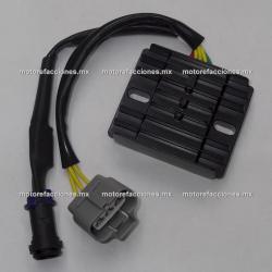 Regulador 6 puntas - Bajaj Pulsar 135 / Pulsar 180