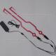Flexi-LED para Casco (Rojo) - 3v