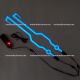 Flexi-LED para Casco (Azul) - 3v