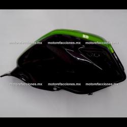 Tanque de Gasolina Italika 150Z (Negro c/ Verde)