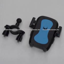 Soporte Celular / GPS ECONOMICO para Moto (Sujeta a Espejo)