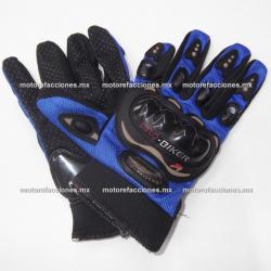 Guantes PRO-BIKER (Negro) talla L