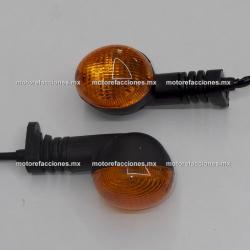 Direccionales - Italika DM150 (mica ambar)