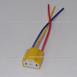 Socket (Arnés) Universal para Foco de Faro tipo HS1 y H4