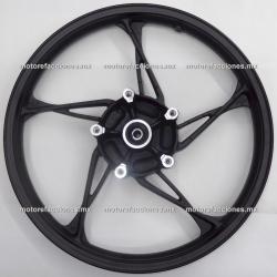 Rin Delantero Italika FT150 - (Negro c/ Cromo)