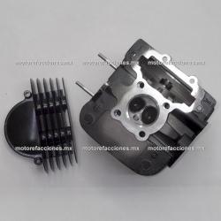 Cabeza de Cilindro Posterior 250cc (motor en V) - Vento V-Thunder / Colt - Yamaha Virago XV250 - QLink Adventure 250