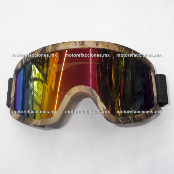 Goggles Deportivos Camuflaje (tornasol - alta claridad)