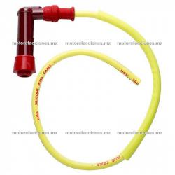 Capuchon y Cable de Bujia NGK (largo)