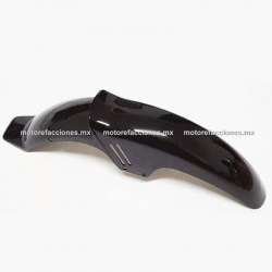 Salpicadera Delantera Motocicleta Italika FT150 (negro brillante)