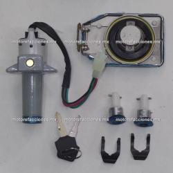 Switch con Llave para Motocicleta Honda Cargo / Titan - 4 Cables