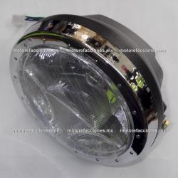 Faro LED Honda Cargo / Titan - Italika FT125 (algunos años) / FT150 (hasta 2008) / DT150 Sport - Motocarro Dazon 200