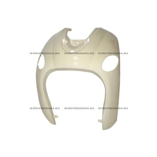 Cubierta Frontal Inferior (panel o encarenado) Motoneta Italika GS150 / GTS175 - Vento Phantom 9i (Negro Brillante)