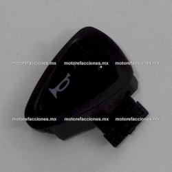 Boton de Claxon - Italika D125 / X125 / AT110 Roja / X110