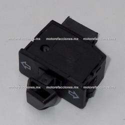 Boton de Direccionales - Italika D125 / X125 / AT110 Roja / X110