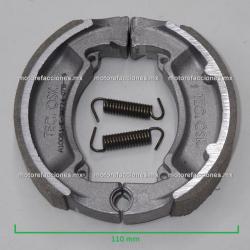 Balatas para Tambor – Italika CS125 / XS125 / VS90 / W150 / Vitalia 125/ AT110 - Yamaha Cripton