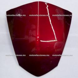 Parabrisas de Cubierta de Manubrio (Antifaz) Motoneta Italika GS150 / GTS175 (vino)