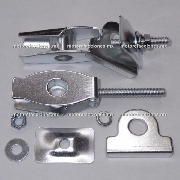 Ajustador de Cadena Motocicletas - Italika FT150 / FT150 GT (par)