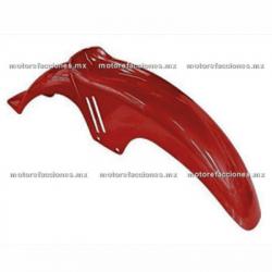 Salpicadera Delantera Italika FT150 (rojo)