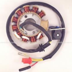 Estator 11 bobinas AC Italika CS125 / XS125 / DS125 / DS150 / GS150 / GTS175 (sin LED)