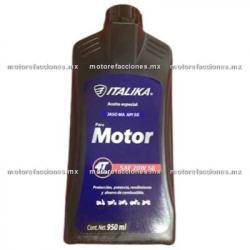 Aceite Italika 4T Multigrado SAE 20W50 Tipo JASO MA2 (950 ml)