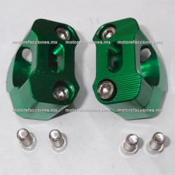 Base para Manubrio Universal Motocicletas (Verde)