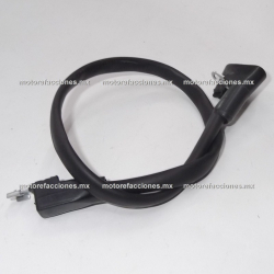 Cable de Bateria para Conexion Electrica - 35 a 45 cm (negro)
