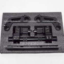 Manubrio Deportivo Transformer Motocicleta (negro) - Multiposiciones