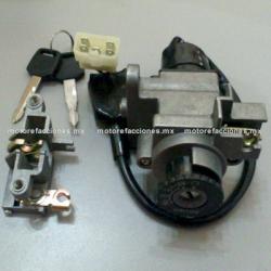 Switch Completo con Llave Motoneta - Italika WS150 / WS175 (conector 5 cables)