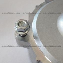 Tuerca M8 p/ Masa de Rin y Tornillo Fijador o Guía (ensamble de cabeza y cilindro) Motonetas Italika