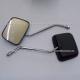 Espejos Negros Cuadrados (10mm) - Honda CGL125