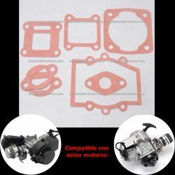 Juntas de Motor Pocket 49cc (Pistera y Cuatrimoto)