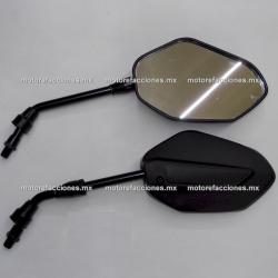 Espejos Negros Grandes (8/10mm) 125Z / 150Z / 170Z