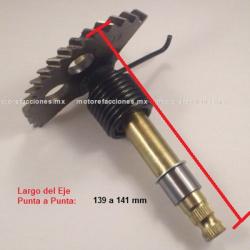 Eje Pedal de Arranque Motonetas MEDIANO - GS150 / GTS175 / GSC175 / WS175 / WS150