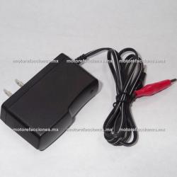 Cargador para Baterías de Gel para Moto 12v - Marca ITALIKA
