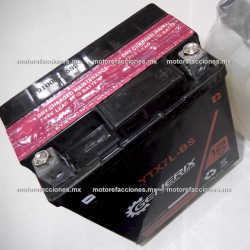 Bateria YTX7L-BS (12V-6Ah) - - - Italika TX200 / DM200 / DM250 – Rebel 250 / Nighthawk / Bros - Kawasaki Ninja 250 / Sherpa 250