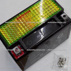 Bateria YTX9A-BS Gel (12V-9Ah) - - - Italika TC250 / BS250 - Kawasaki Police / Katana 600 / Katana 750 / KFX400 / Z1000